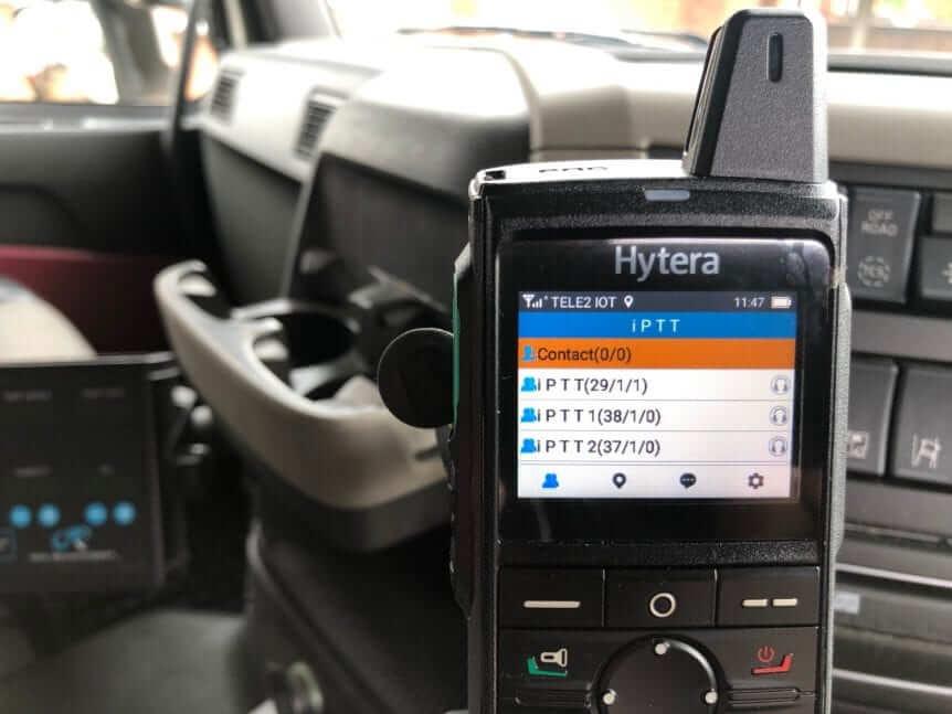 iPTT POC App on HYTERA PNC370