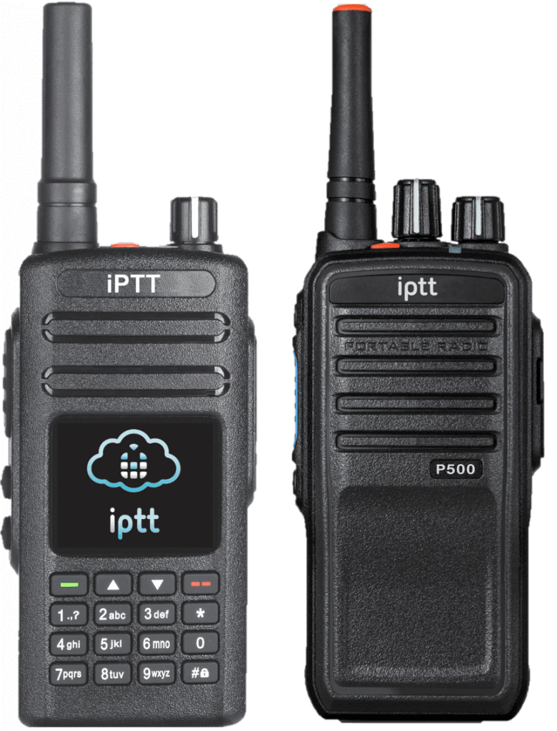 The iPTT P400 and iPTT P500 PTT over Cellular Radio Terminals add functions and benefits like 4G LTE, Bluetooth, WiFi, Panic/Alarm Button, Display, Crystal Clear Low Latency Communication, GPS Location Tracking, replay of the last communication and much more.